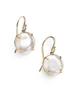 IPPOLITA - Mother-Of-Pearl Doublet & 18K Gold Drop Earrings