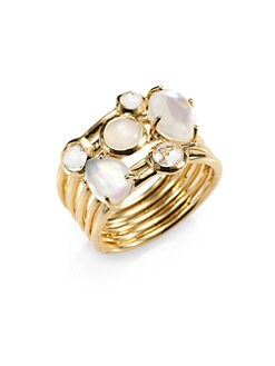 IPPOLITA - Semi-Precious Multi-Stone & 18K Gold Cluster Ring