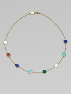 IPPOLITA - Multi-Stone 18K Yellow Gold Necklace