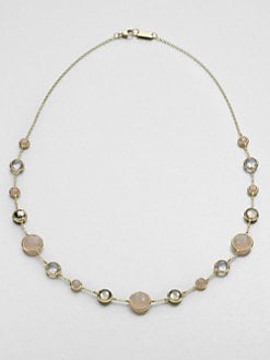 IPPOLITA - 18K Gold & Semi-Precious Multi-Stone Station Necklace