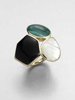IPPOLITA - Semi-Precious Multi-Stone 18K Gold Ring