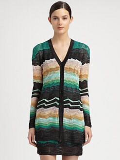 Missoni - Wave Lurex Cardigan