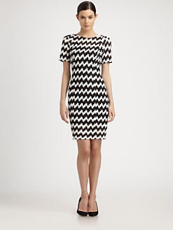 Missoni - Zig-Zag Lurex Dress