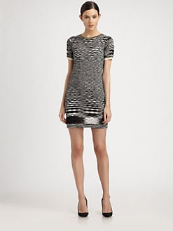 Missoni - Variegated Stitching Dress