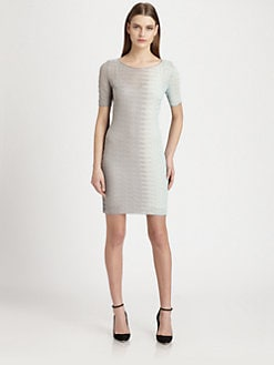 Missoni - Colorblock Open-Crocheted Dress