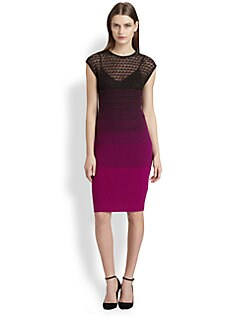 Missoni - Degrad&eacute; Crocheted Dress