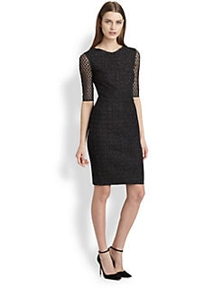 Missoni - Metallic Crocheted Dress