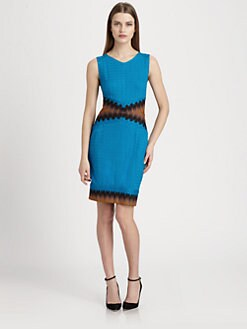 Missoni - Sheer-Back Crocheted Dress