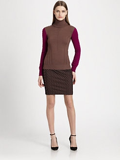 Missoni - Raised-Dot Turtleneck Sweater