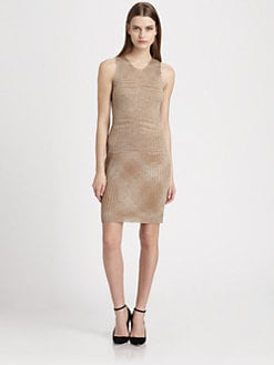 Missoni - Metallic-Weave Space-Dyed Dress