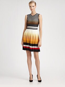 Missoni - Waffle Knit Ombré Dress