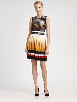 Missoni - Waffle Knit Ombr&eacute; Dress