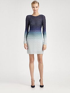 Missoni - Ombr&eacute; Lurex Knit Dress