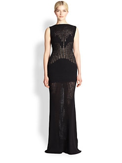 Missoni - Knit Sheer Gown