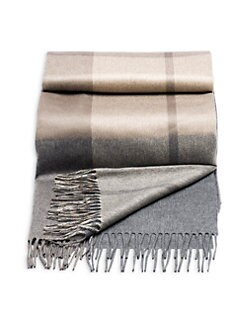 Brunello Cucinelli - Cashmere Plaid Blanket