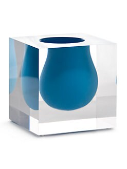 Jonathan Adler - Bel Air Mini Scoop Lucite Vase