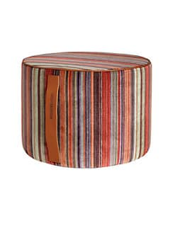 Missoni - Nazca Striped Velvet Pouf