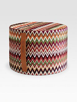 Missoni - Nadour Zigzag Velvet Pouf