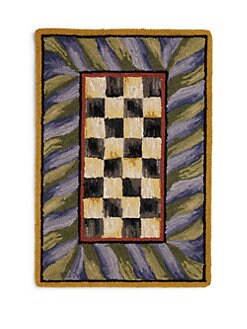 MacKenzie-Childs - 2 x 3 Courtly Check Rug