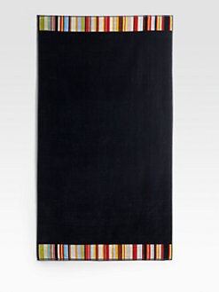 Paul Smith - Stripe-Trim Beach Towel