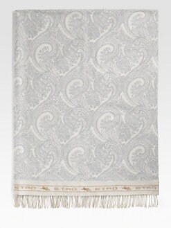 Etro - Loup Wool Throw