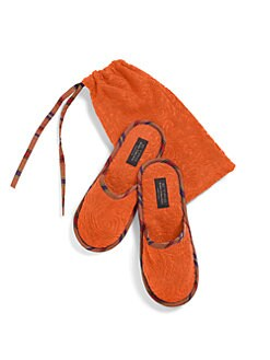 Etro - Roubert Slippers & Pouch