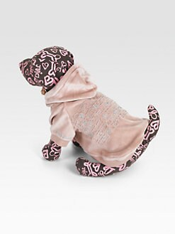 Juicy Couture - Graphic Velour Dog Hoodie