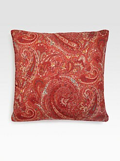 Etro - Dorset Large Paisley-Print Accent Pillow