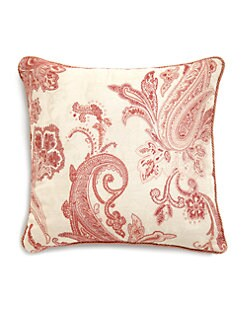 Etro - Guenon Velvet Paisley Accent Pillow