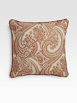 Etro - Dane Paisley Accent Pillow