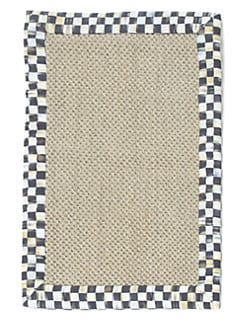 MacKenzie-Childs - Courtly Check Sisal Rug