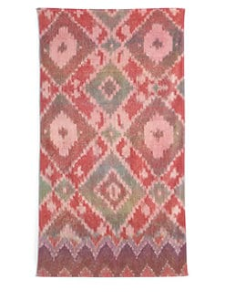 Fresco - Ikat Diamond Beach Towel