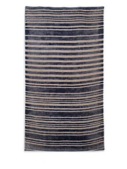 Fresco - Navy Stripe Beach Towel
