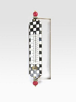 MacKenzie-Childs - Courtly Check Enamel Thermometer