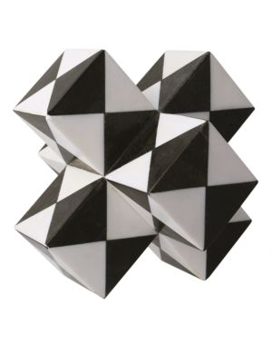 Marble Trapezoid Sculpture