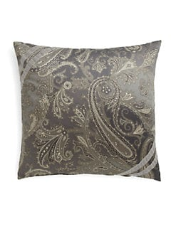 Etro - London Paisley Jacquard Accent Pillow