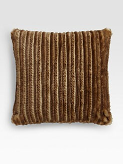 Etro - Ryde Faux-Fur Accent Pillow