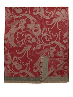 Etro - Tapanzee Fringed Paisley Throw