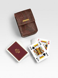 Etro - Bugrane Playing Cards, Set of 2