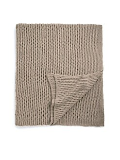 Sofia Cashmere - Boucle Mesh Cashmere Throw