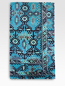 Fresco - Aztec Blue Beach Towel
