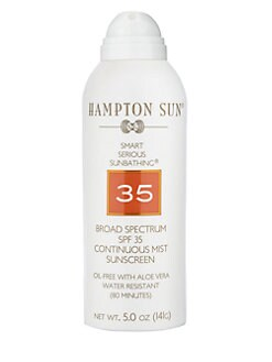 Hampton Sun - SPF 35 Continuous Mist Sunscreen/5 oz.