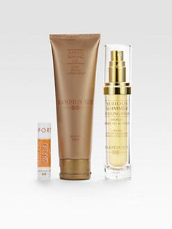 Hampton Sun - Sunless Tanning Gel & Shimmer Spray & Bonus SPF 30 Lip Balm