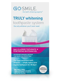 GO SMiLE - Truly Whitening Toothpaste System