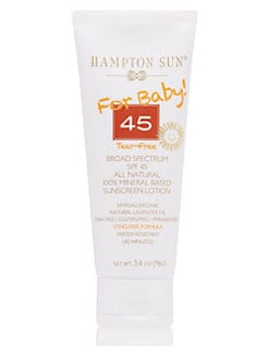Hampton Sun - Natural Sunscreen for Baby SPF 45/3.4oz.