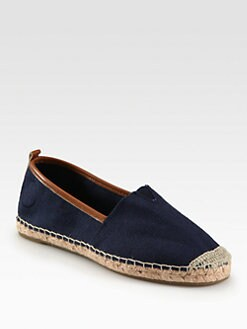 MICHAEL MICHAEL KORS - Meg Canvas & Leather Espadrilles