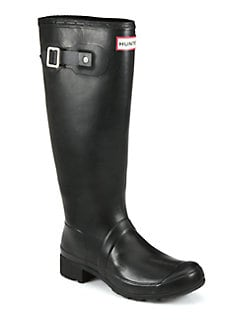Hunter - Rubber Tour Rain Boots