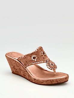 Jack Rogers - Cork Wedge Sandals