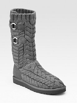UGG Australia - Tularosa Route Cable-Knit Tall Boots