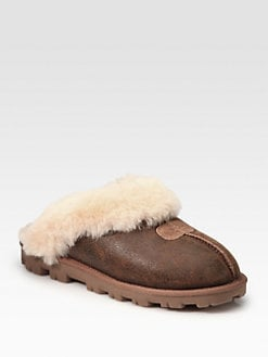 UGG Australia - Coquette Slip-On Suede Bomber Mules